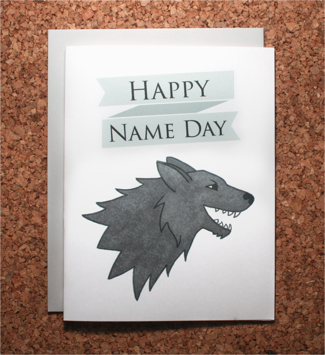 game of thrones birthday card name day