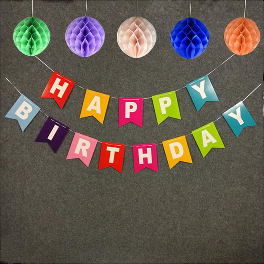 happy birthday bunting banners