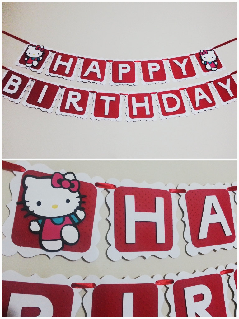 hello kitty banner happy birthday