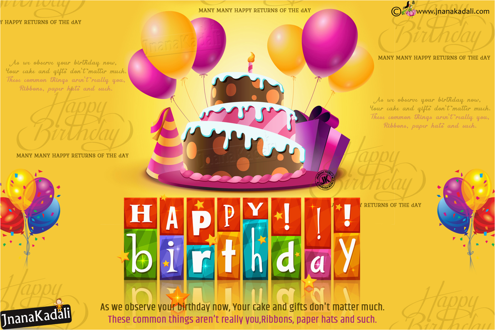 wishing you happy birthday vector greetings in english vector birthday wallpapers free download