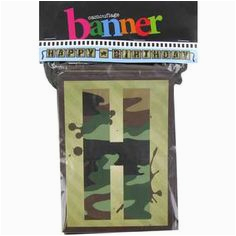 camouflage hunting themed birthday party
