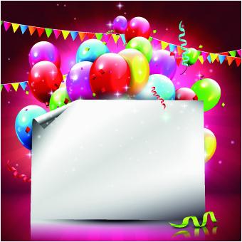 happy birthday background design