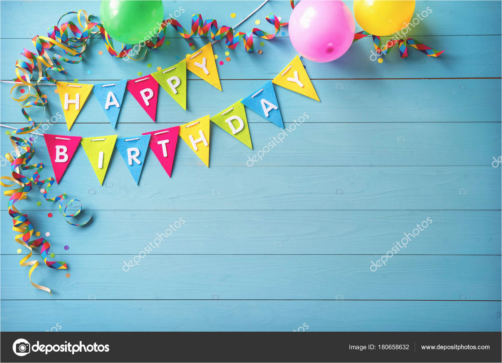 stock photo happy birthday party background with