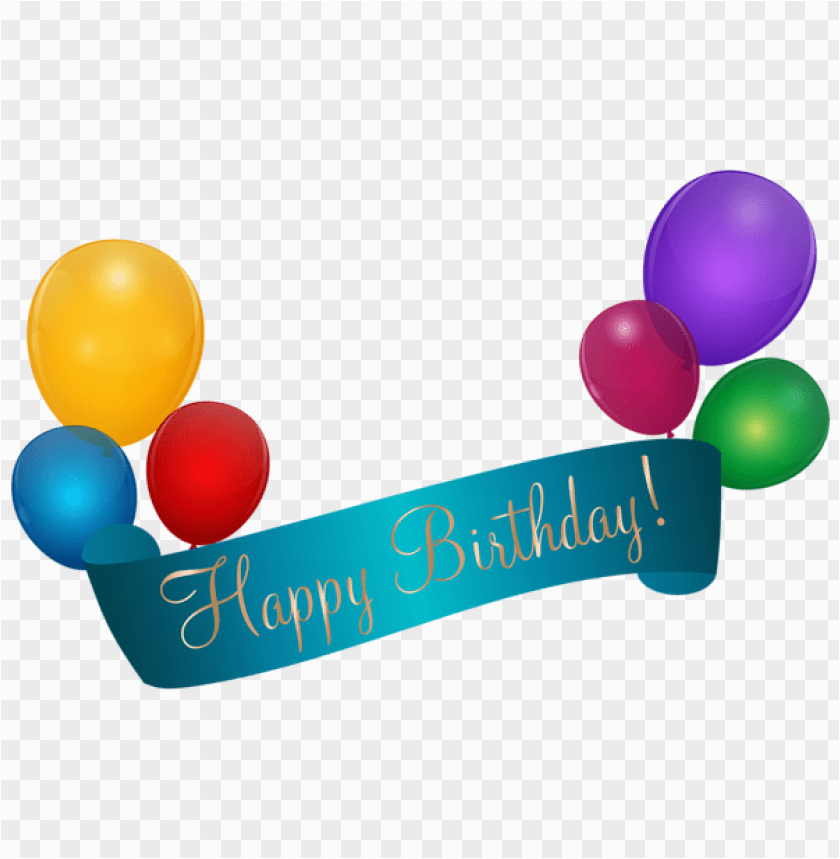 happy birthday banner transparent png free png images 42279