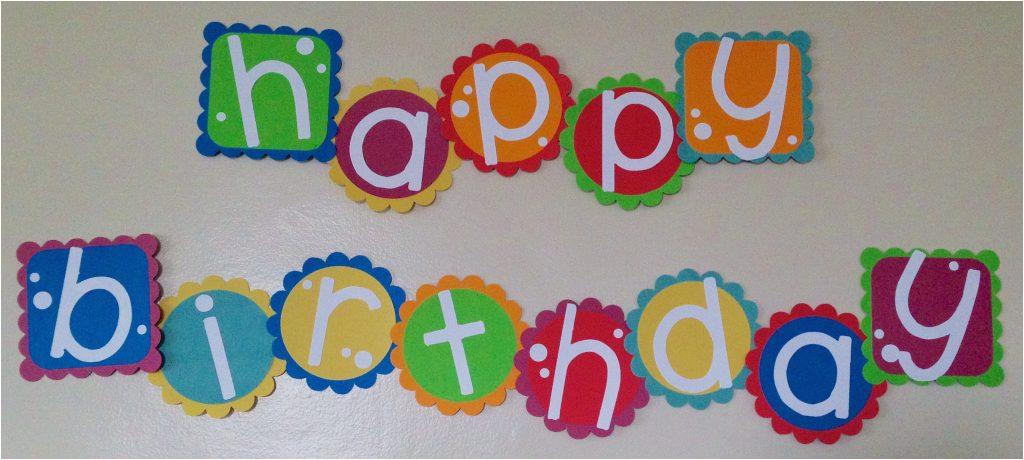 Happy Birthday Banner In Usa Birthday Banner Being Genevieve