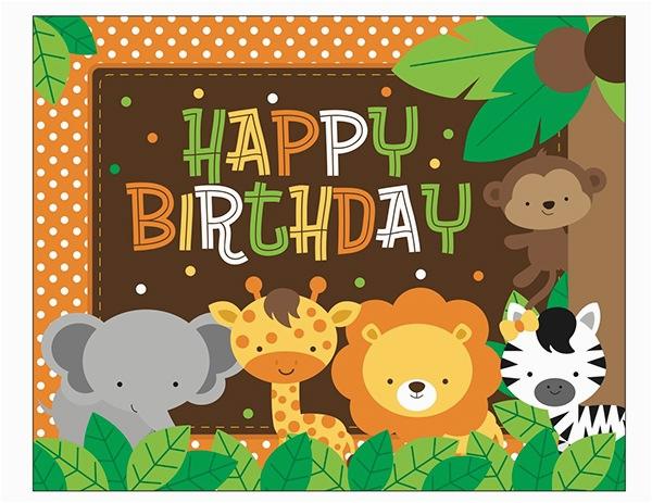 safari themed bday party