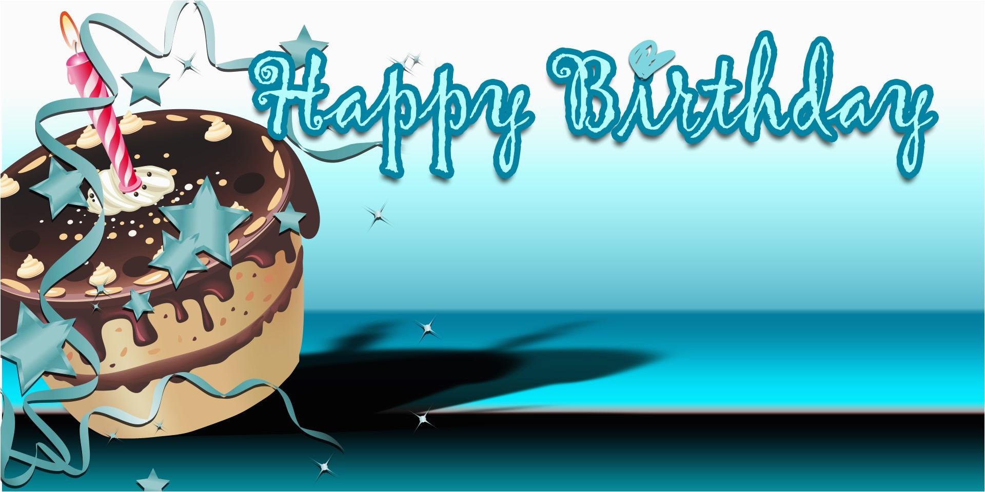 birthday cake teal