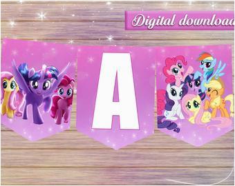 little pony banner