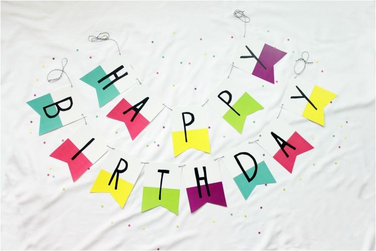 Happy Birthday Banner Printable Free Printable Banner Happy Birthday Pennants Consumer