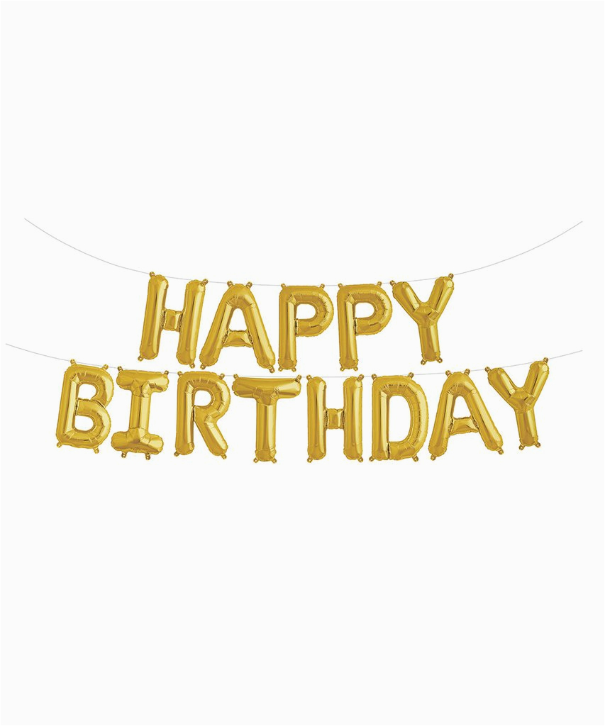 mylar 16 happy birthday balloon banner