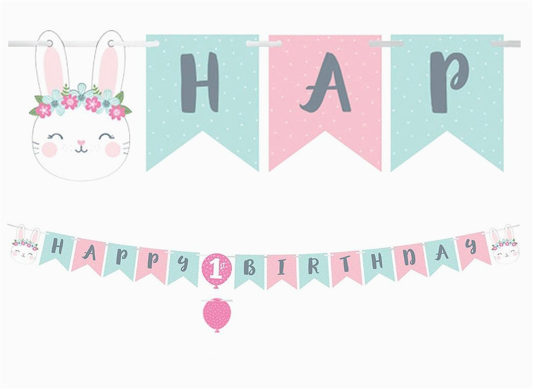 Happy Birthday Banner Reject Shop Sweet Pea Parties Happy Birthday Banners
