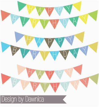 birthday banner clipart banners bunting 1128511