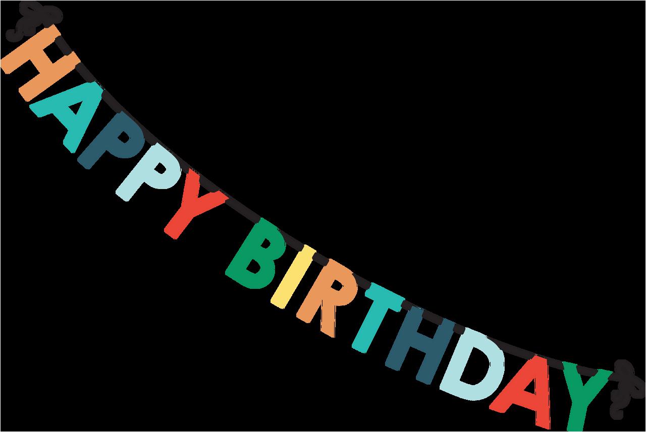 happy birthday banner 2 svg cut file