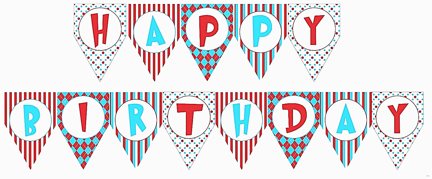 happy birthday banner template printable 1316