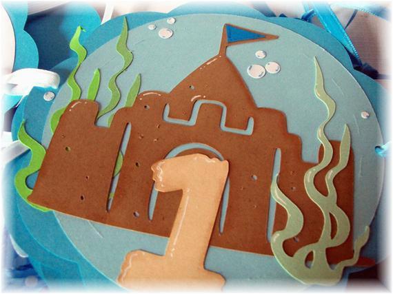 under the sea shark happy birthday party