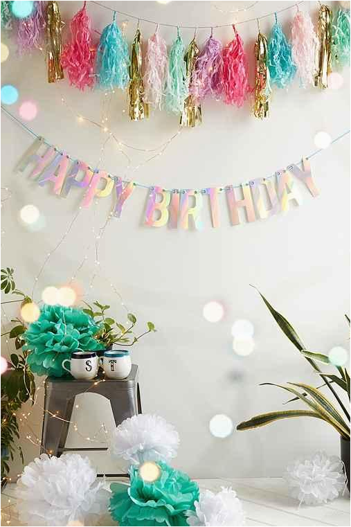 uo happy birthday party banner