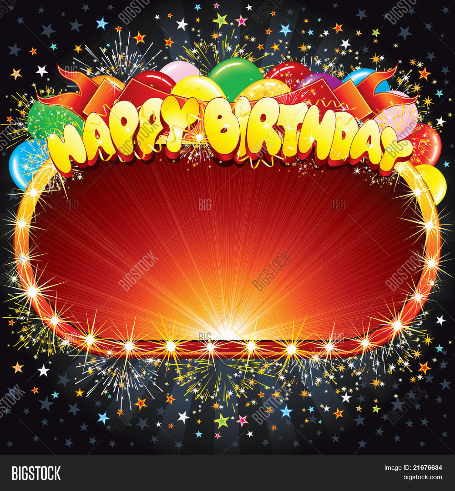 stock vector happy birthday vector background for your congratulations