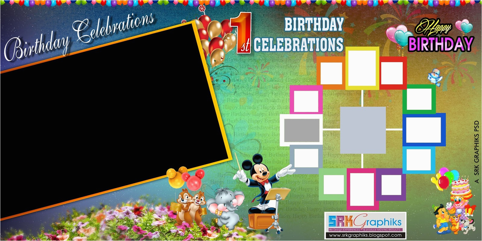 Happy Birthday Banner Wallpaper Download Birthday Banner Background Design Psd 4 Background Check All