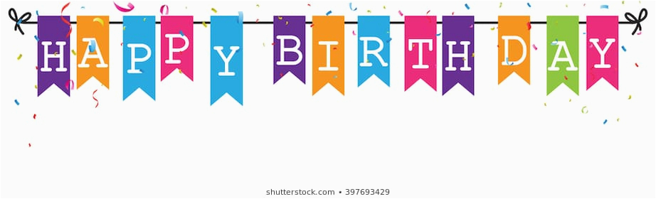Happy Birthday Banner with Images Happy Birthday Banner Images Stock Photos Vectors
