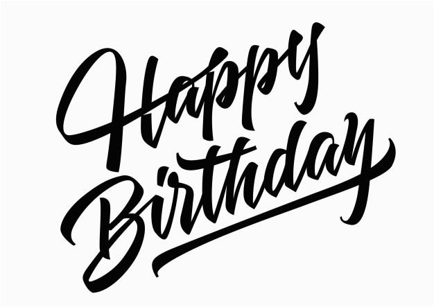 happy birthday lettering 1371534