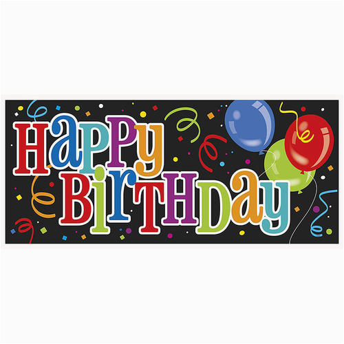 p 368795 lvu 61685 bold happy birthday wall banner 60 x 27