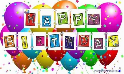 free printable happy birthday signs