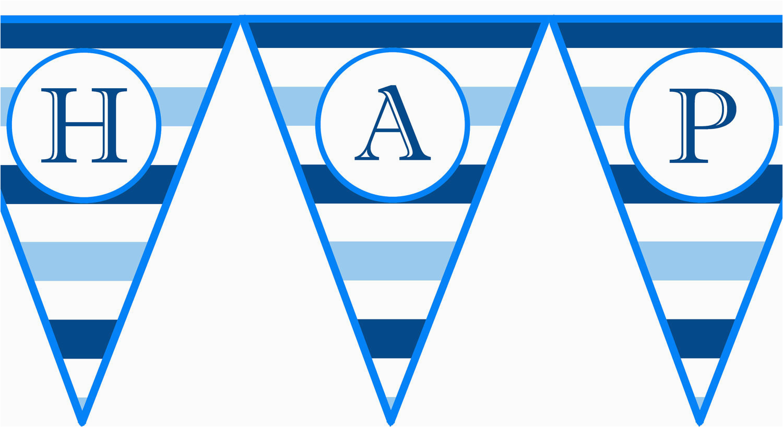 instant download blue horizontal stripe