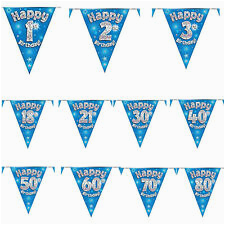 Happy Birthday Banners Tesco 21st Birthday Banners Buntings Garlands for Sale Ebay