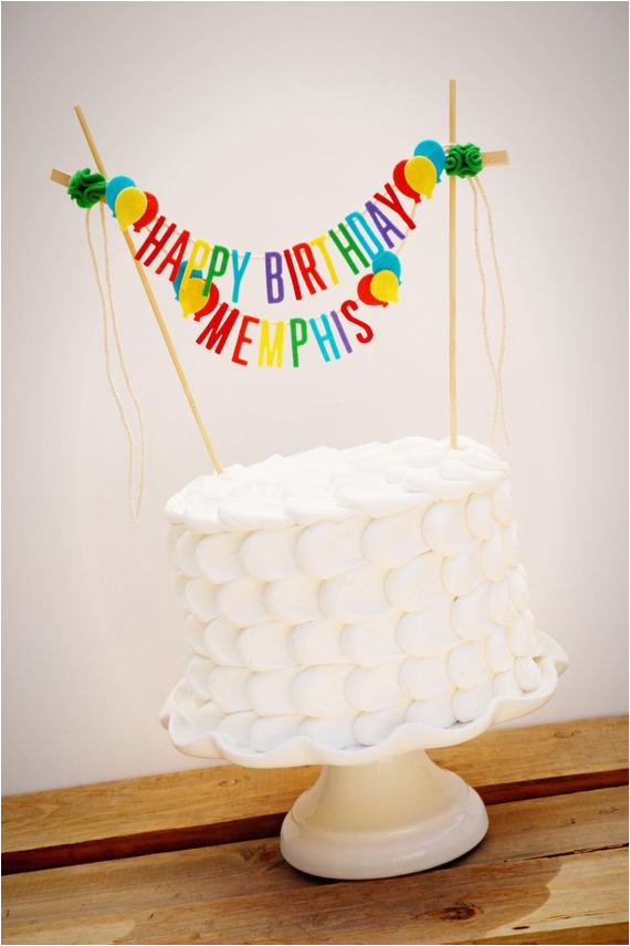 personalized cake banner happy birthday