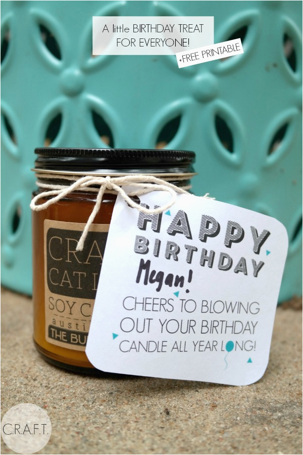 diy birthday gifts free printable