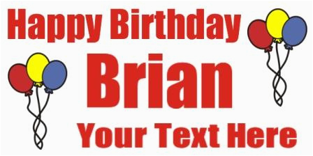 happy birthday clip art banner