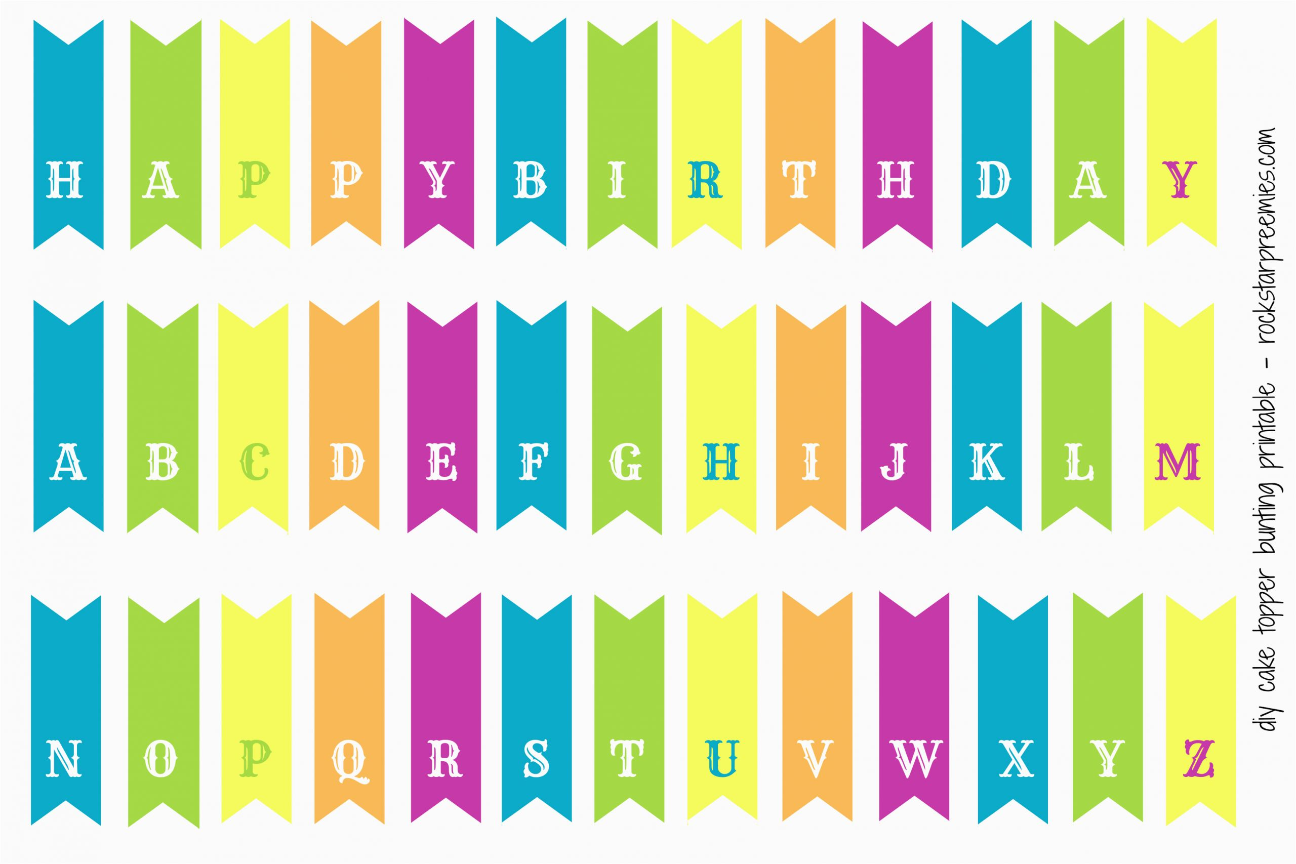 How to Make A Happy Birthday Banner In Word First Birthday for Two and A Free Diy Bunting Printable