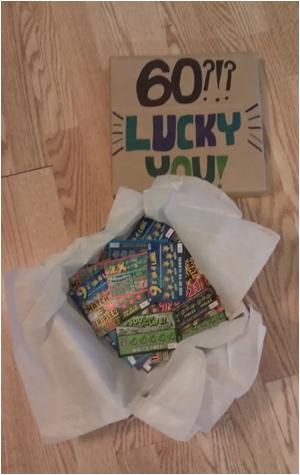 diy lucky birthday surprise box