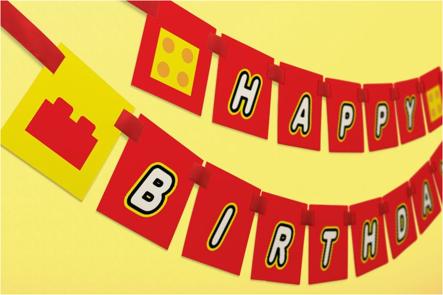 printable birthday banner diy rainbow