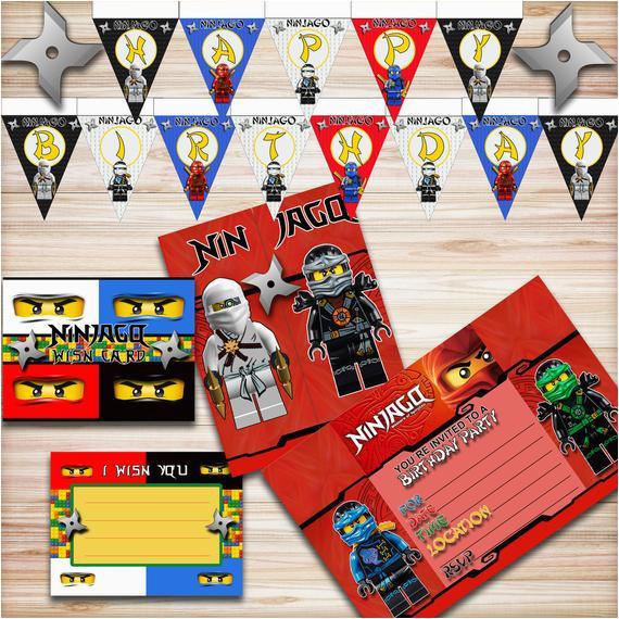 lego ninjago birthday party kit ninjago