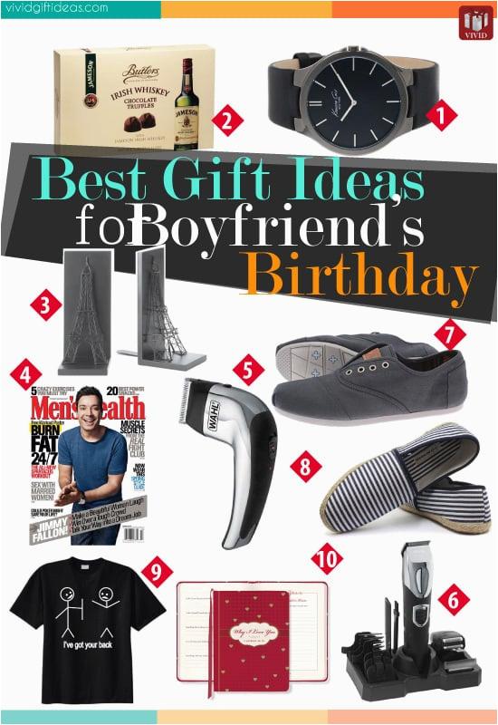 best gift ideas boyfriends birthday