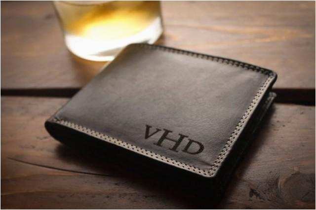 personalized mens wallet for men fathers gift for dad birthday gift men graduation gift anniversary gift christmas gift ideas groomsmen gift