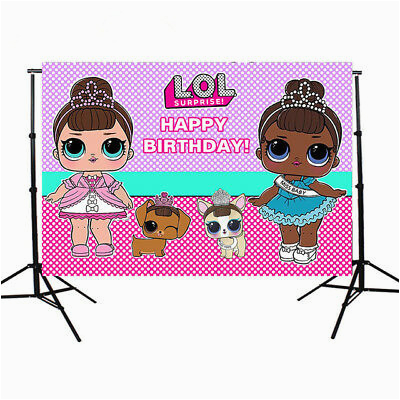 lol surprise doll birthday custom photo studio backdrops 162918006986