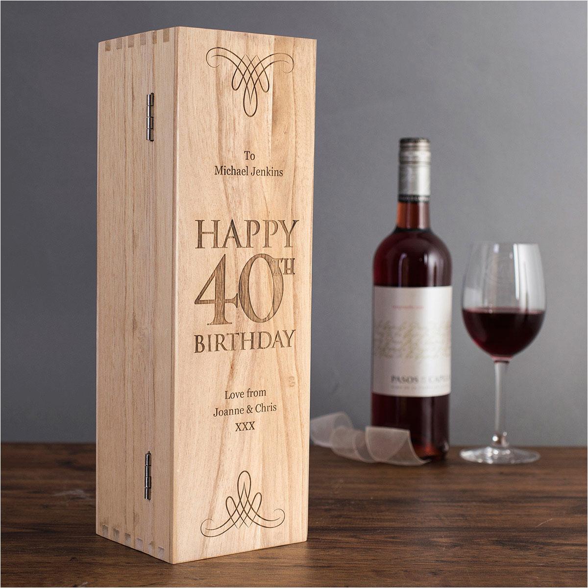 40th birthday gifts luxury