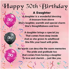 30th birthday quotes for daughter
