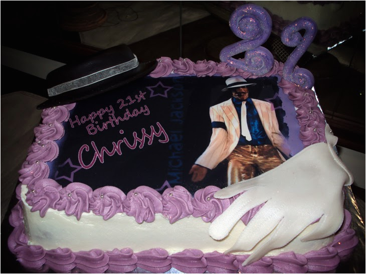 michael jackson picture cake spref pi