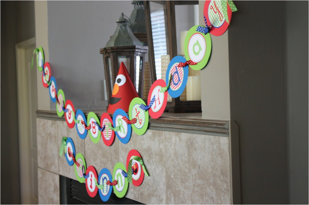 elmo fruit tray and other party ideas