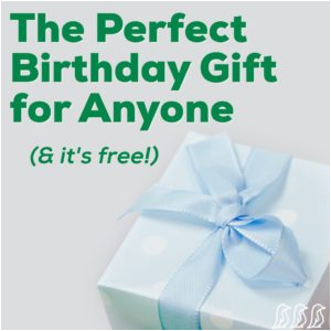 the perfect birthday gift for anyone its free