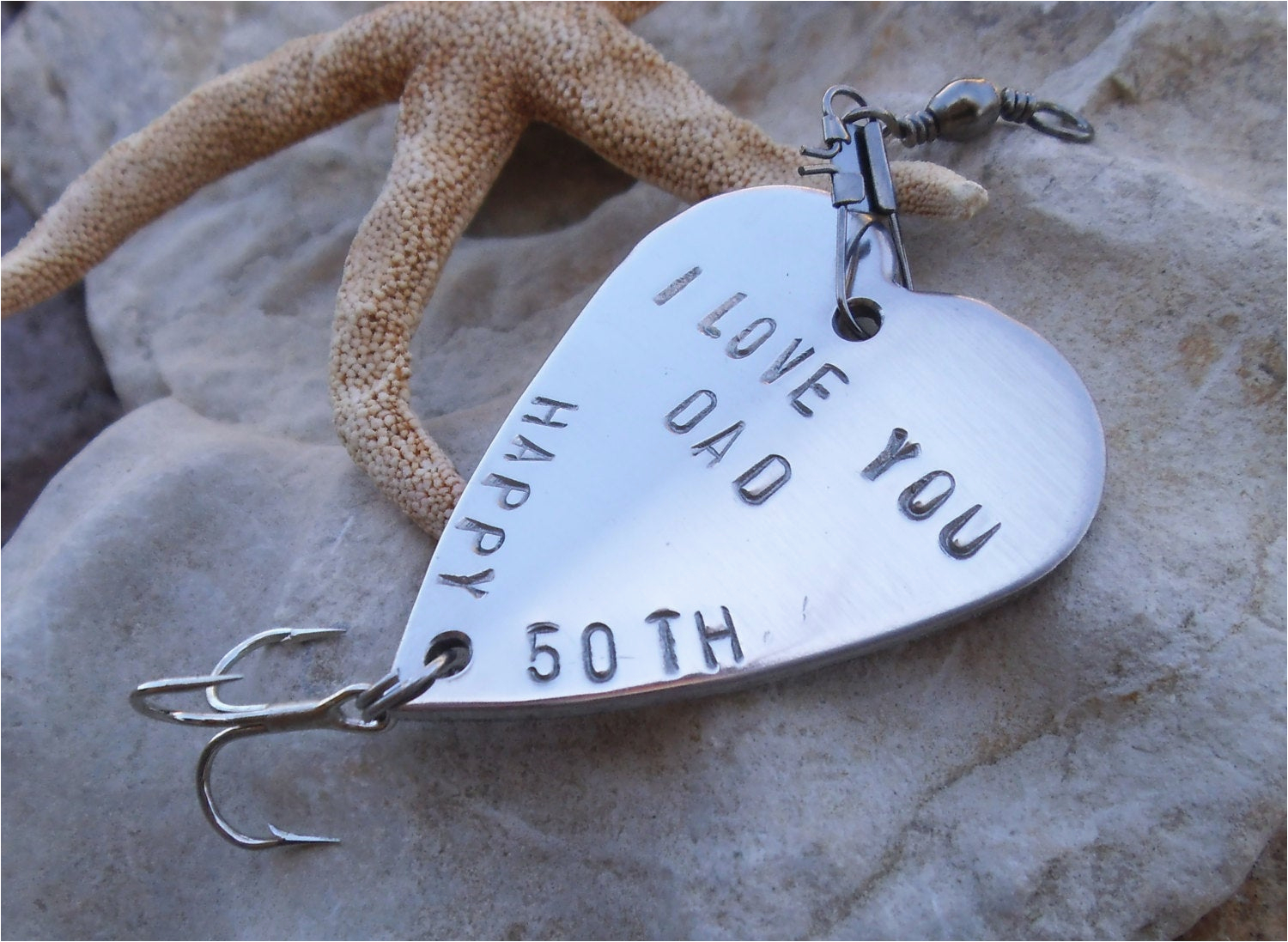 Personalised 65th Birthday Gifts for Him 50th Birthday Gift for Dad 40th Birthday Party Favor Fishing