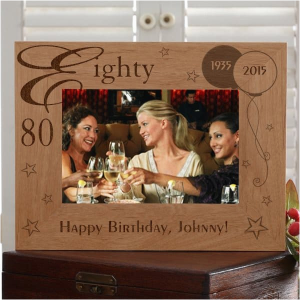 Personalised 80th Birthday Gifts for Him 80th Birthday Gifts for Men Best 80th Birthday Gift