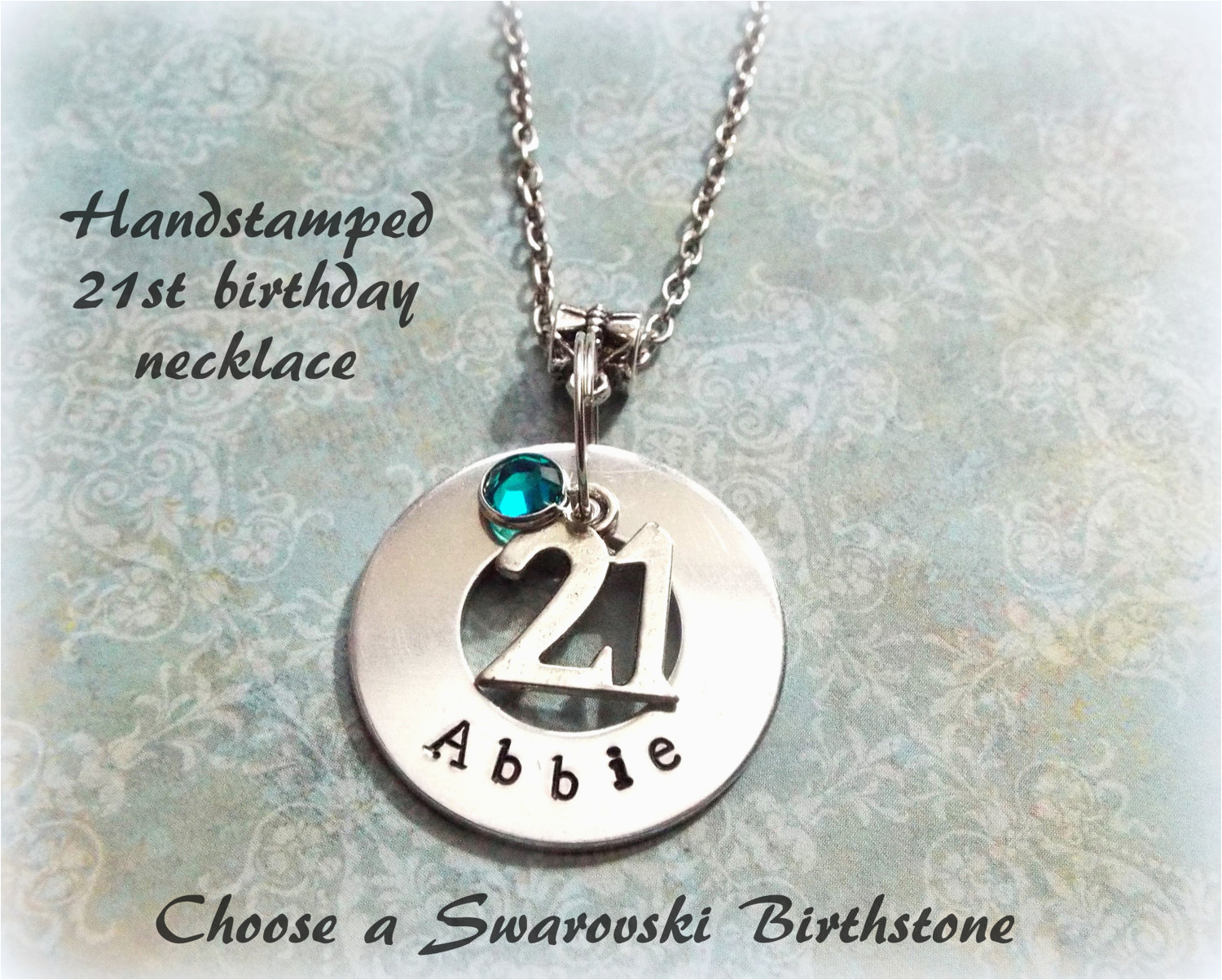21st birthday gift personalized