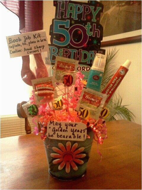 50th birthday gag gift ideas him