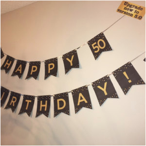 happy birthday banner printable 30th