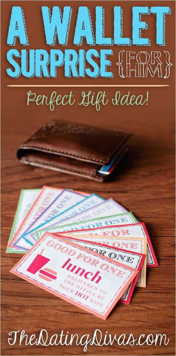 Romantic Birthday Gifts for Boyfriend Diy A Wallet Surprise Your Boyfriend is Going to Love This