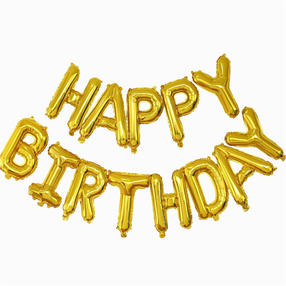 Self Inflating Happy Birthday Banner Card Factory Happy Birthday Self Inflating Balloon Foil Banner Bunting